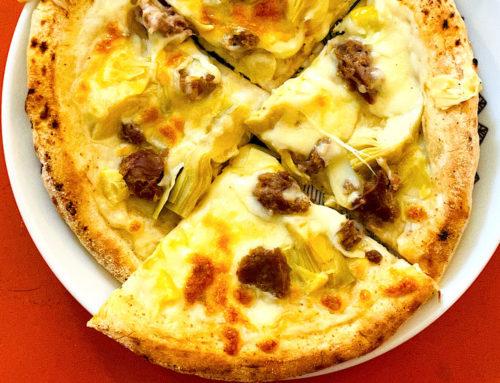 ディーンアンドデルーカのピザ食べました!